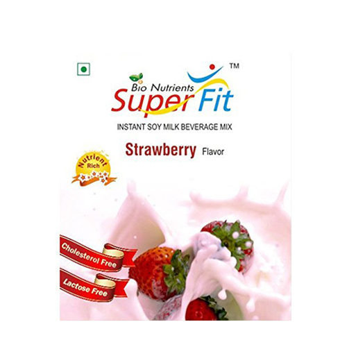 Super Fit Instant Soy Milk Beverage Mix Strawberry