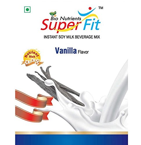 SuperFit Soya Vanilla Health Beverage Mix 200g