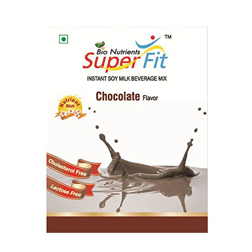 Super Fit Instant Soy Milk Beverage Mix Chocolate