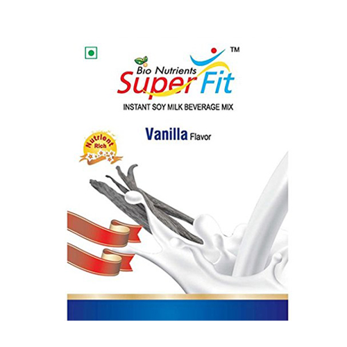 Super Fit Instant Soy Milk Beverage Mix Vanilla Flavor