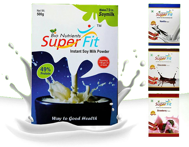 superfit soy milk powder