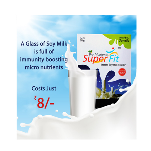 SUPERFIT SOY MIX POWDER YEARLY SUBSCRIPTION OFFER